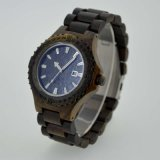 Het nieuwe Houten Horloge van de Gesp van de Katapult van de Stijl Unisex-