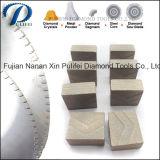 Il diamante della Cina lavora il disco del diamante brasato segmento di pietra prefabbricato