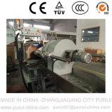 Machine en plastique de vis simple pour les rebuts de rebut de HDPE