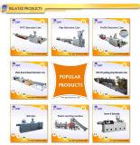 Extrusion en Plastique de Production de Panneau de Voie de Garage de Brique-Configuration de PVC Faisant la Ligne de Machines