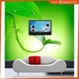 Las ventas calientes modificaron la pintura al óleo verde del diseño para requisitos particulares 3D del mundo para la decoración casera