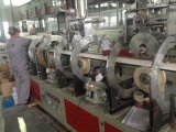 Extruder die van de Productie van de Tegel van de Strook van pvc de Kunstmatige Marmeren Plastic Machines maken