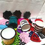 Cadeaux promotionnels de cuisine en émail Coupe de café avec tapis