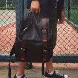 2017 de Tiener Packbag van Backbags van de Dubbele Student van de Schouder (5901)