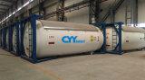 Recipiente de tanque ISO de GLG de argônio de nitrogênio líquido criogênico de nitrogênio