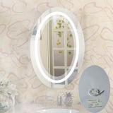 Rilievi del dispositivo antiappannante del riscaldamento dello specchio illuminati stanza da bagno Ene dell'hotel di marca