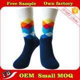 Kundenspezifische bunte Mann-Socken