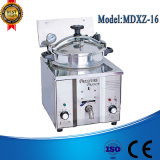 Máquina profunda de la sartén del buñuelo Mdxz-16, termóstato de la sartén