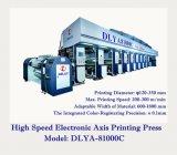 Presse typographique électronique à grande vitesse de rotogravure d'axe (DLYA-81000C)