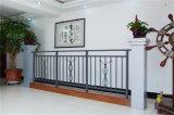Balcón de acero galvanizado decorativo de alta calidad 10 que cercan con barandilla de la aleación de Haohan Alluminum