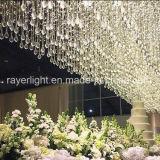 صنع وفقا لطلب الزّبون يتزوّج [لد] ستار أضواء مع زخرفة بلّوريّة