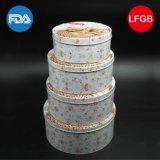 Ronda de oso de peluche de la lata / caja de metal con precio favorable (R008-V1)
