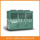 Água de baixa temperatura unidade de condensação em forma de caixa de refrigeração de V