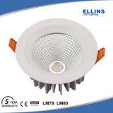 Pouce imperméable à l'eau neuf 230V d'IP44 30W Downlight DEL 6