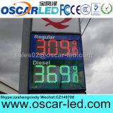 """8 """" 10 """" 12 """" 16 """" 18 """" знак газовой цены красного зеленого желтого белого цвета Ультра-Тонкий напольный СИД"""