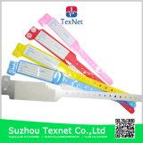 Wristbands infantiles coloridos del hospital de la pieza inserta de la tarjeta, venda de la identificación del hospital