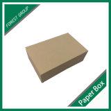 Casella di carta ondulata riciclabile del Brown Kraft di disegno dell'OEM
