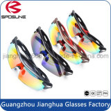 Wholesale Custom Logo Lunettes de soleil Cat 3 Cycling Riding Sportswear UV400 Lunettes de protection