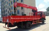 최신 판매는 기중기로 망원경 XCMG 기중기 5 톤 트럭 10 톤 거치했다