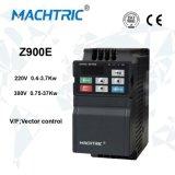 220V de Aandrijving van de Snelheid van de Motor van de Convertor 0.4-3.7kw AC van de Frequentie van de enige Fase