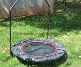 Trampoline ginástico para ao ar livre e interno com o punho para Chidren