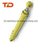 O cilindro da lagarta para a máquina escavadora personalizada máquina escavadora parte o escavador por atacado PC200 PC300 E330 Zx330 Zx200 Zx450 PC1250 da estrutura da construção