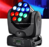 12PCS indicatore luminoso capo mobile del fascio del CREE RGBW 4in1 LED