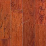 Bois solide d'orme de Handscraped parquetant le plancher plat de bois dur d'orme