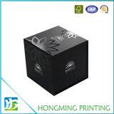 Cajas de embalaje de la insignia de la joyería ULTRAVIOLETA al por mayor del papel