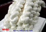 China Wholesale Tela de seda crua 100% Mulberry Spun Silk Yarn