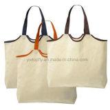 Logotipos personalizados de bolsas recicl do algodão da promoção