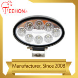 Lámpara oval del trabajo de 24W LED para los carros