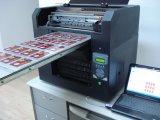 Máquina de impressão UV econômica do cartão do PVC do diodo emissor de luz do tamanho A3