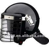 バイザーが付いている警察の反暴動の保護ヘルメット