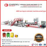 ABS zwei Zeilen Plastikblatt-Extruder-Maschine in der Chaoxu Maschinerie