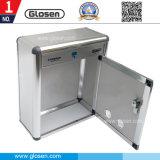 Di alluminio Parete-Montare il contenitore di giornale con il grande formato B033 della serratura