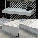 Modernes festes Oberflächenbadezimmer-Wannen-Tisch-Oberseite-Bassin