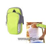 Sports de promotion exécutant le sac de bras de téléphone mobile de cadeau pour extérieur