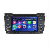 Radio auto para la sonata 2009 de Hyundai con el volante del soporte DVR del iPod de DVD 3G TV