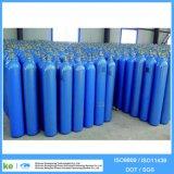 fábrica de alta pressão ISO9809 do tanque de gás do oxigênio do aço 40L sem emenda