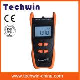 Fuente de luz de Techwin del probador rentable de la fibra de Tw3109e