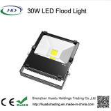 lâmpada de inundação ao ar livre do diodo emissor de luz da luz de inundação IP65 da ESPIGA 30W