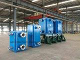 Intercambiador de calor de placa para agua de calefacción de aceite