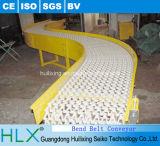 Nastro trasportatore modulare curvo grado di Dongguan