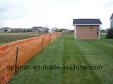Rete fissa arancione di /Garden della barriera di sicurezza della rete fissa 1*50m/della neve di sicurezza di esecuzioni di pattino