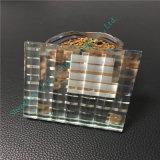 Verre clairement feuilleté personnalisé/glace stratifiée en verre de flotteur/art pour la décoration