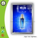 (A1 A2 A3) del marco de aluminio delgado mesa de luz LED Publicidad