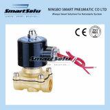 2/2 de válvula de solenóide a ação direta de bronze da maneira