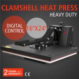 машина переноса давления жары Clamshell серии 40X60 промотирования 16X24 HP460-S
