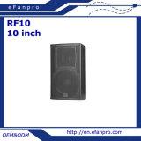 10インチの専門の可聴周波スピーカーボックス(RF10 -気転)